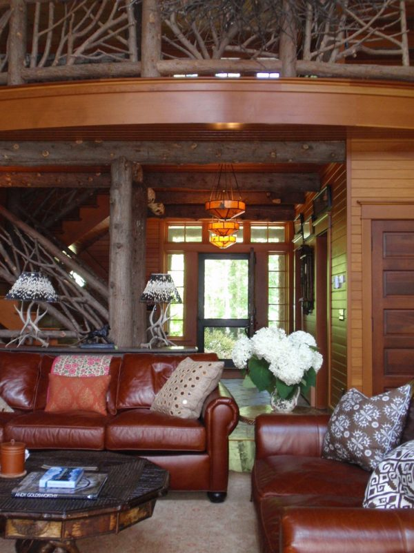 living room decorating ideas and designs Remodels Photos Elizabeth Guest Interiors, LLC Stanton New Jersey United States rustic-living-room
