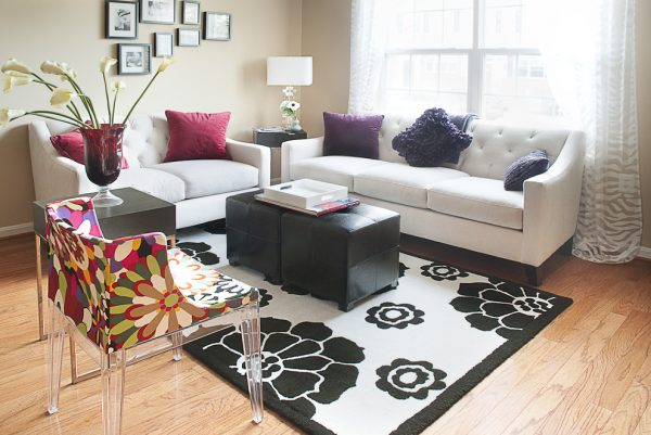 living room decorating ideas and designs Remodels Photos  Fanny Zigdon Interiors Baltimore Maryland United States contemporary-living-room