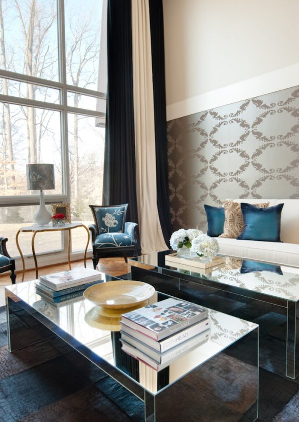 living room decorating ideas and designs Remodels Photos  Fanny Zigdon Interiors Baltimore Maryland United States transitional-living-room