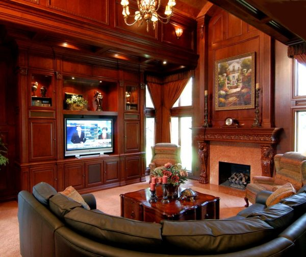 living room decorating ideas and designs Remodels Photos Foran Interior Design Plano Texas United States traditional-family-room-001