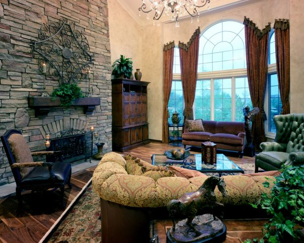 living room decorating ideas and designs Remodels Photos Foran Interior Design Plano Texas United States traditional-family-room