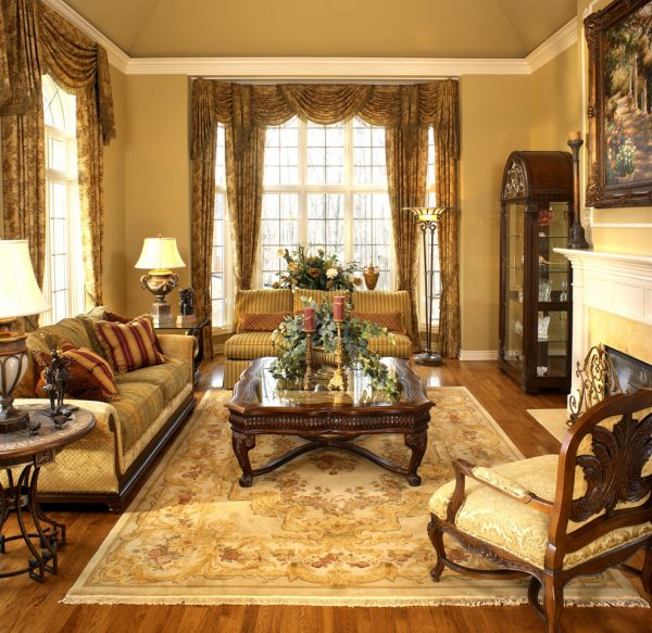 Traditional Interior Design By Ownby: Living Room Decorating And Designs By Foran Interior
