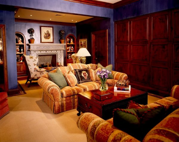 living room decorating ideas and designs Remodels Photos Green Design Innovation Sewickley Pennsylvania United States traditional-family-room
