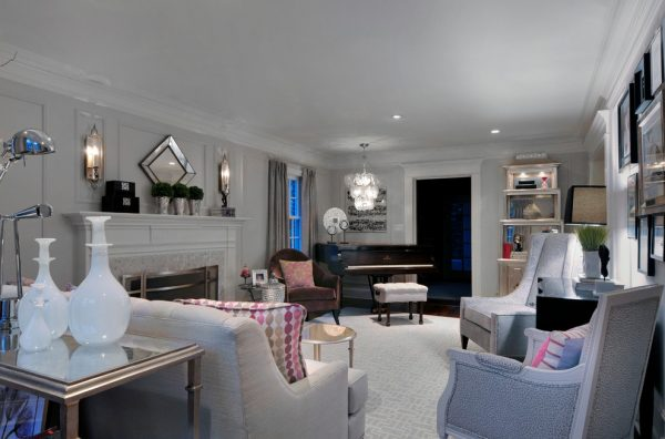 living room decorating ideas and designs Remodels Photos HarLoe Interiors Rockville Centre New York United States contemporary-living-room