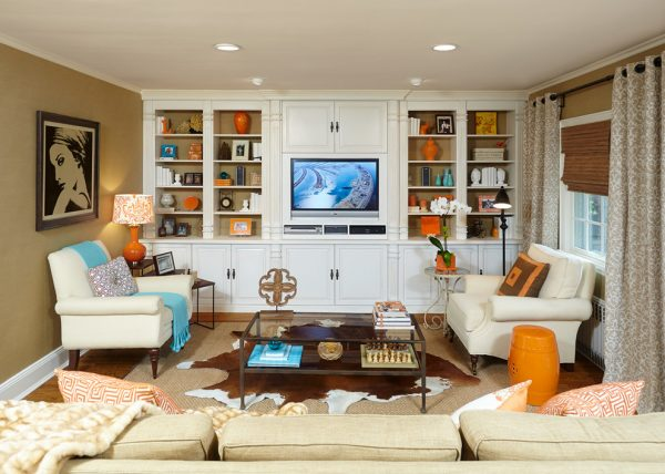 living room decorating ideas and designs Remodels Photos HarLoe Interiors Rockville Centre New York United States transitional-family-room