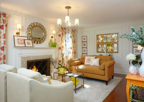 living room decorating ideas and designs Remodels Photos HarLoe Interiors Rockville Centre New York United States transitional-living-room