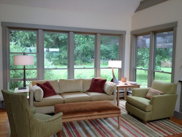 living room decorating ideas and designs Remodels Photos Inner Visions Interiors Bedford Massachusetts United States contemporary-family-room