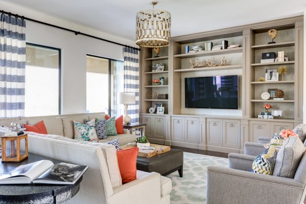 living room decorating ideas and designs Remodels Photos  J & J Design Group, LLC Scottsdale Arizona United States transitional-family-room-001