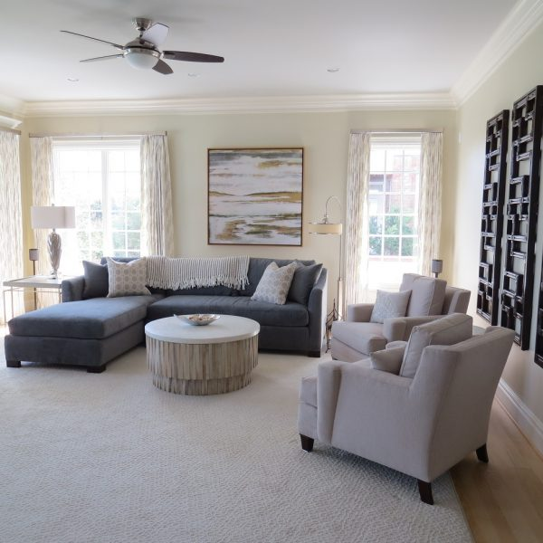 living room decorating ideas and designs Remodels Photos J&L Interiors, LLC Leesburg Virginia United States beach-style-family-room