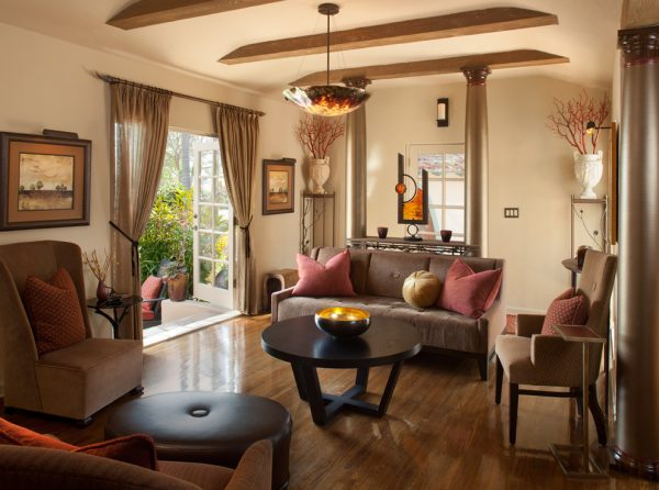 living room decorating ideas and designs Remodels Photos James Patrick Walters San Diego California United States contemporary-living-room-002