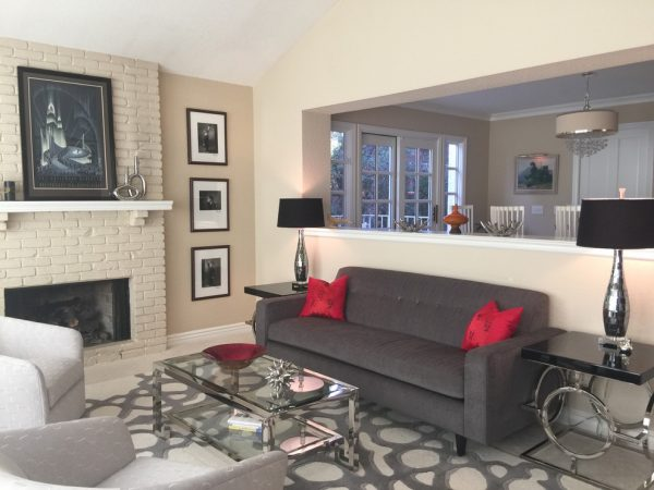 living room decorating ideas and designs Remodels Photos Janice Peters, Distinctive Décor Thousand Oaks California United States modern-living-room