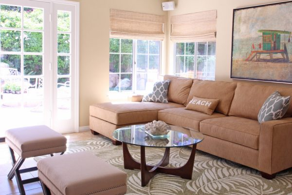 living room decorating ideas and designs Remodels Photos Janice Peters, Distinctive Décor Thousand Oaks California beach-style-family-room