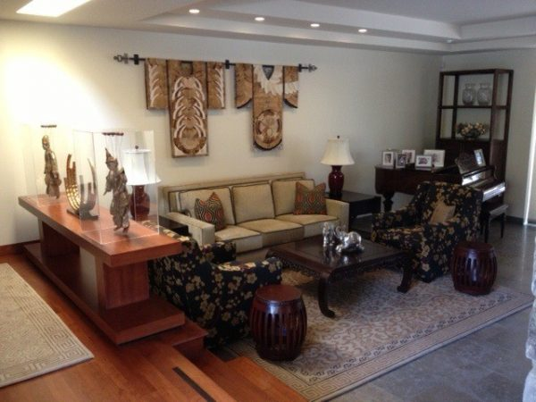 living room decorating ideas and designs Remodels Photos KP Design Studio Carlsbad California United States asian-living-room