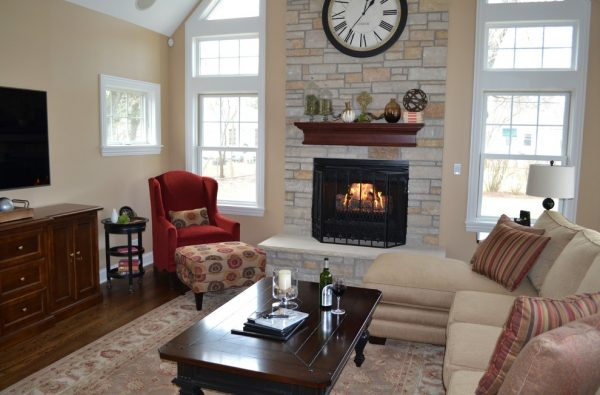 living room decorating ideas and designs Remodels Photos Kelly Brasch Interiors Cary Illinois United States traditional-family-room-004