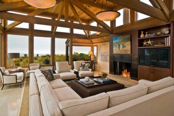 living room decorating ideas and designs Remodels Photos Kristi Will Home + Design Capistrano California United States beach-style-living-room