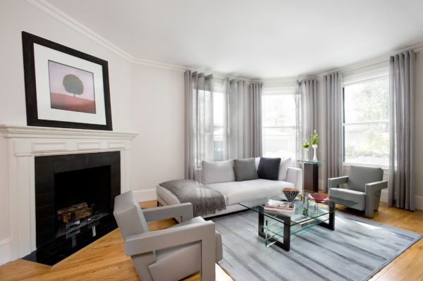 living room decorating ideas and designs Remodels Photos La Tour Design Boston Massachusetts United States contemporary-living-room