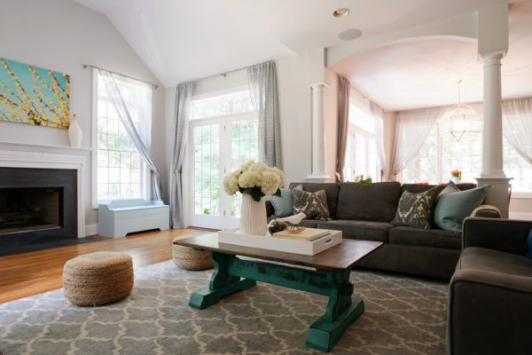 living room decorating ideas and designs Remodels Photos Larina Kase Interior DesignWaynePennsylvania United States eclectic-family-room