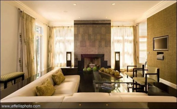 living room decorating ideas and designs Remodels Photos Laurel Feldman Interiors, IIDA Highland Park Illinois United States contemporary-living-room