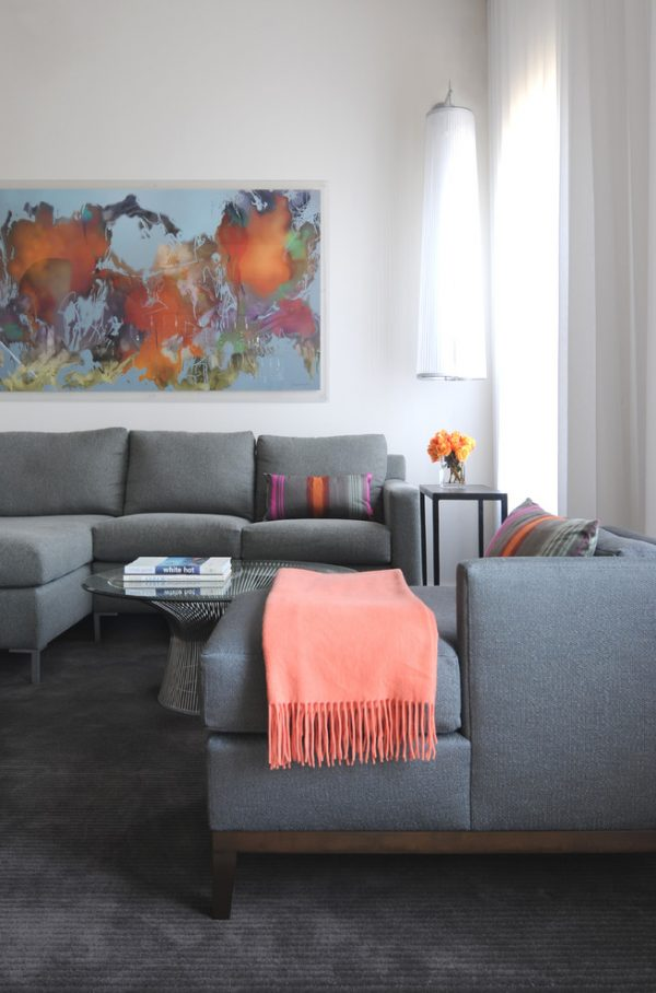 living room decorating ideas and designs Remodels Photos Lee Lormand Design Texas United States contemporary-living-room