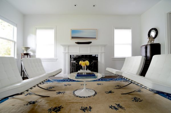 living room decorating ideas and designs Remodels Photos Lee Lormand Design Texas United States eclectic-living-room