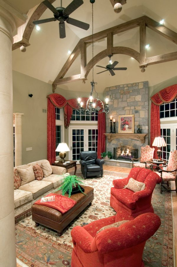 living room decorating ideas and designs Remodels Photos Lori Levine Interiors, Inc. Basking Ridge New Jersey United Statestraditional-living-room-001