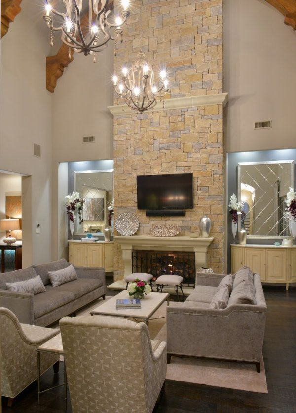 living room decorating ideas and designs Remodels Photos M2 Design Group Southlake Texas United States transitional-family-room-002