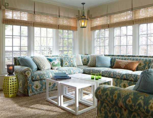 living room decorating ideas and designs Remodels Photos MICHAEL WHALEY INTERIORS, INC New York United States traditional-sunroom