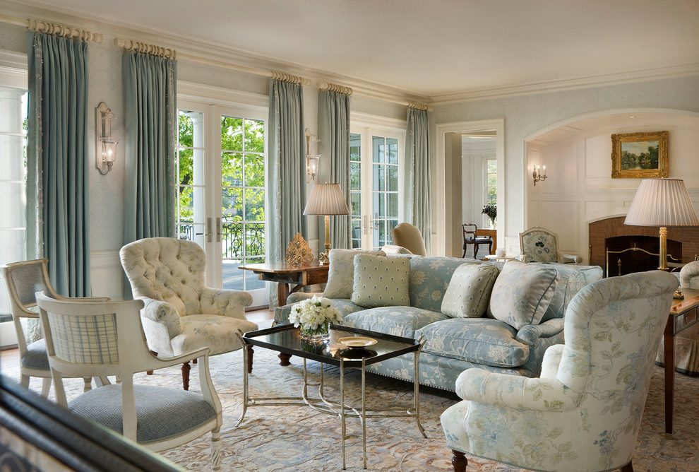 Living Room Decorating And Designs By Michael Whaley Interiors Inc New York United States