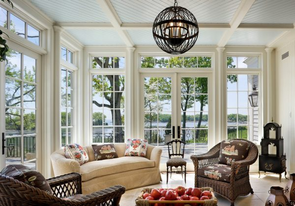 living room decorating ideas and designs Remodels Photos MICHAEL WHALEY INTERIORS, INC New York United States victorian-sunroom