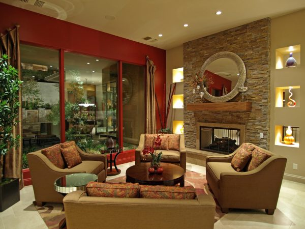 living room decorating ideas and designs Remodels Photos Marteen Moore Interior Planning Las Vegas Nevada United States contemporary-living-room