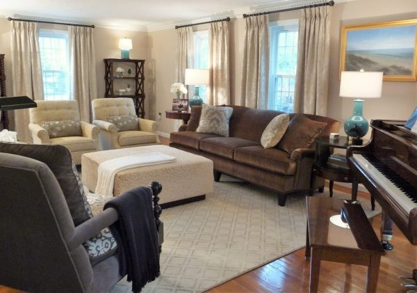 living room decorating ideas and designs Remodels Photos Marylou Fraser Interiors Wellesley Massachusetts United States eclectic-living-room