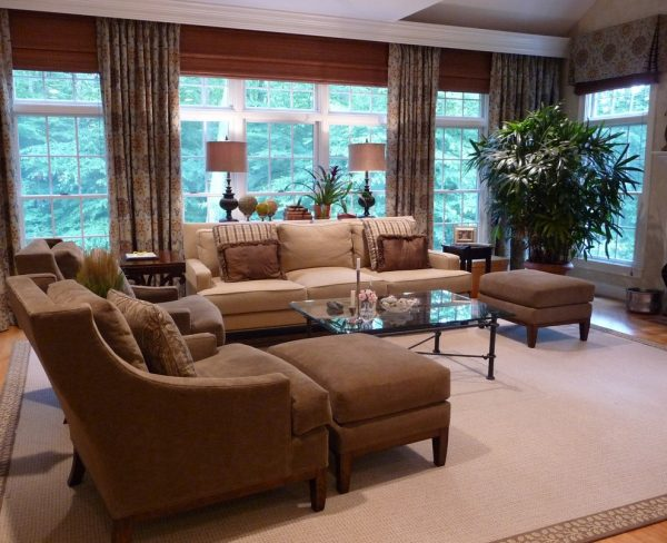 living room decorating ideas and designs Remodels Photos Marylou Fraser Interiors Wellesley Massachusetts United States transitional-family-room