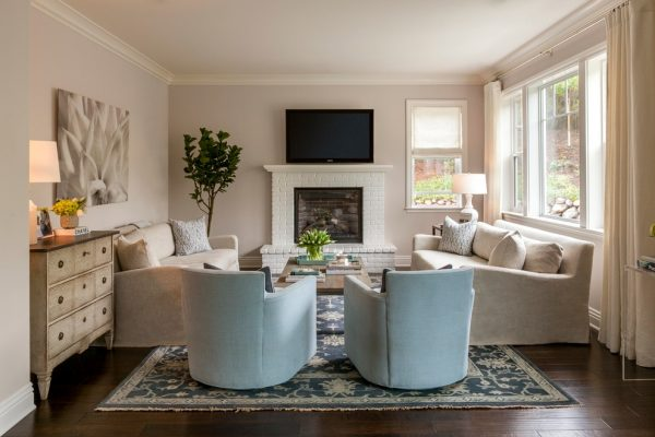 living room decorating ideas and designs Remodels Photos Mead Quin Design Oakland California United States traditional-living-room