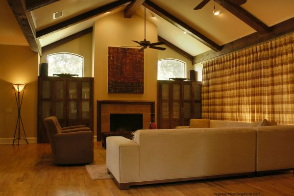 living room decorating ideas and designs Remodels Photos Melinda Miles Interiors, LLC Dallas Texas United States transitional-family-room