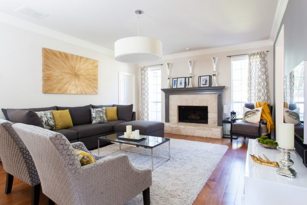 living room decorating ideas and designs Remodels Photos Posh Interiors Austin Austin Texas United States transitional-family-room