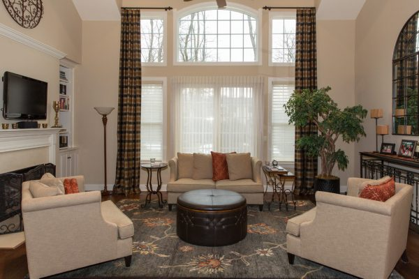 living room decorating ideas and designs Remodels Photos Re-Feather Your Nest Decorating Mt. Freedom New Jersey transitional-family-room