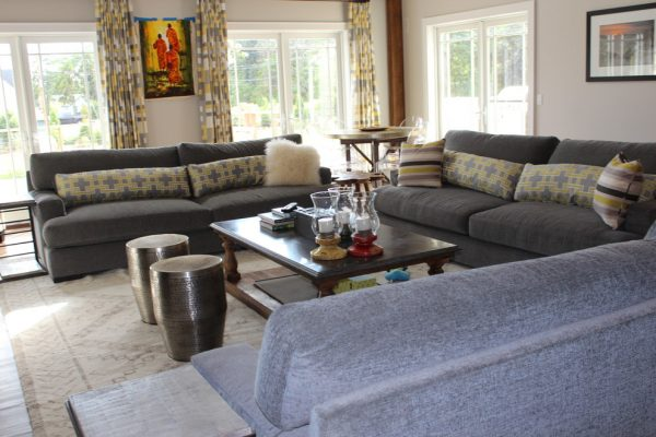 living room decorating ideas and designs Remodels Photos Rug & Home Gallery + Design Hawthorne New York United States rustic-living-room-008