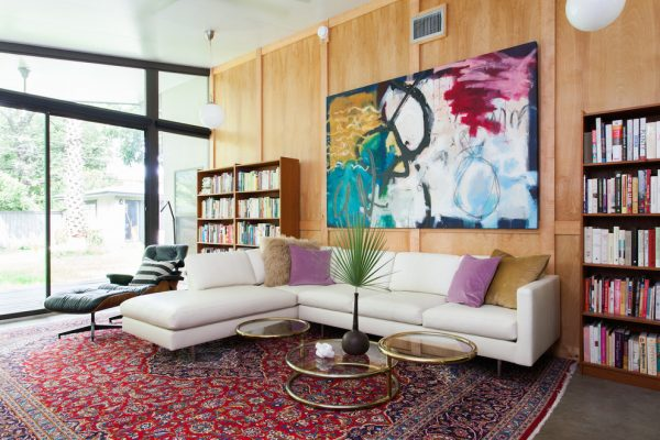 living room decorating ideas and designs Remodels Photos Sarah Stacey Interior Design Austin Texas United States midcentury-living-room-001
