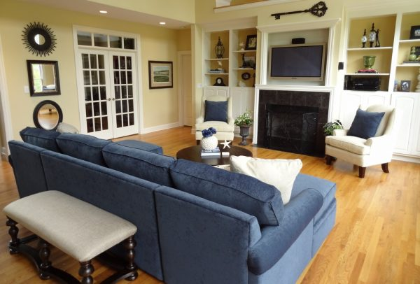 living room decorating ideas and designs Remodels Photos Scarlet Designs - Interiors by Tara Goodlettsville Tennessee traditional-living-room