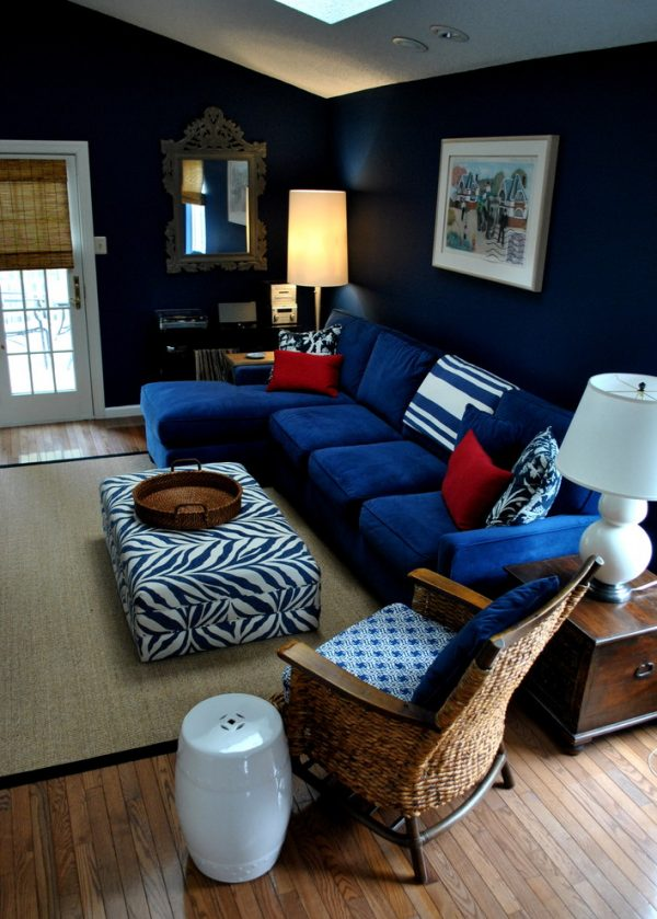 living room decorating ideas and designs Remodels Photos Segal & Wilmot Interior Design Wayne Pennsylvania United States eclectic-family-room