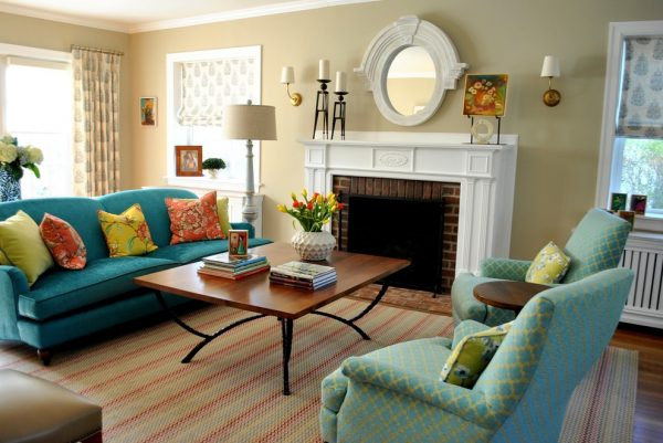 living room decorating ideas and designs Remodels Photos Segal & Wilmot Interior Design Wayne Pennsylvania United States transitional-living-room-002