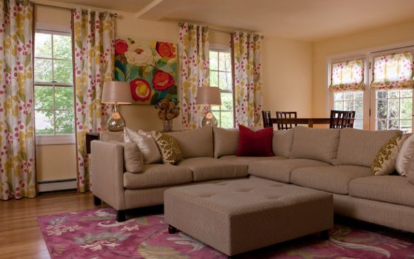living room decorating ideas and designs Remodels Photos Susan Hayward Interiors Milton Massachusetts United States traditional-family-room