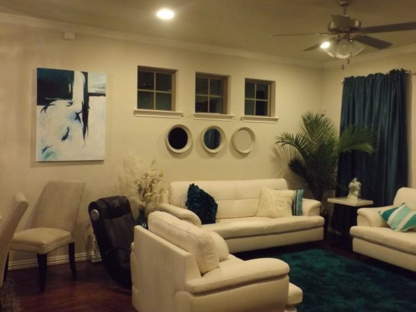 living room decorating ideas and designs Remodels Photos  TF Design and Color Panama City Beach Florida United States contemporary-living-room