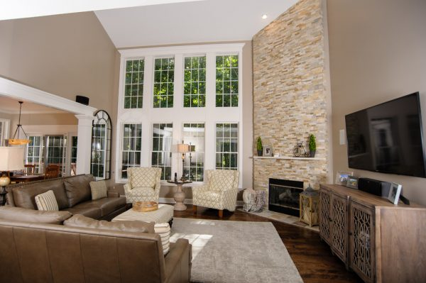 living room decorating ideas and designs Remodels Photos Tanya Rynicke Interiors, LLC Brighton Michigan United States transitional-living-room-010