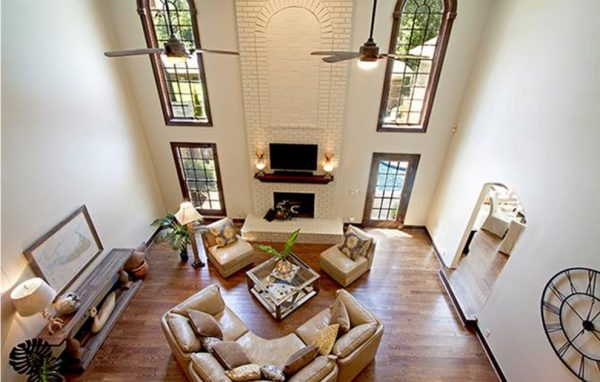 living room decorating ideas and designs Remodels Photos The Practical Decorator Nashville Tennessee United States transitional-002