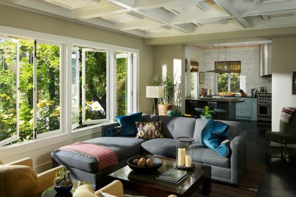 living room decorating ideas and designs Remodels Photos The Troop Group Newport Beach California United States eclectic-family-room