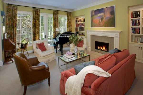 living room decorating ideas and designs Remodels Photos The Troop Group Newport Beach California United States traditional-living-room