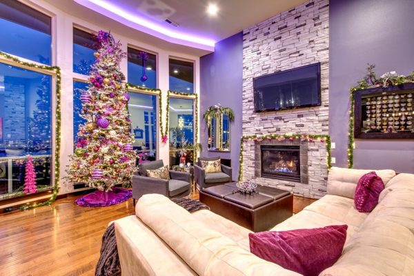 living room decorating ideas and designs Remodels Photos Transitional Designs, LLC Washougal Washington United States contemporary-family-room