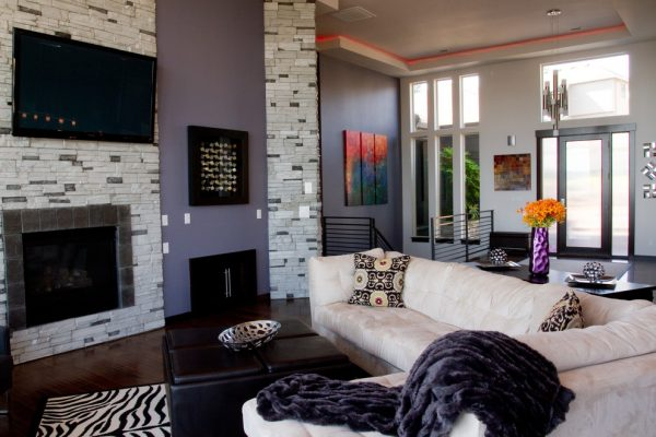 living room decorating ideas and designs Remodels Photos Transitional Designs, LLC Washougal Washington United States contemporary-living-room-002