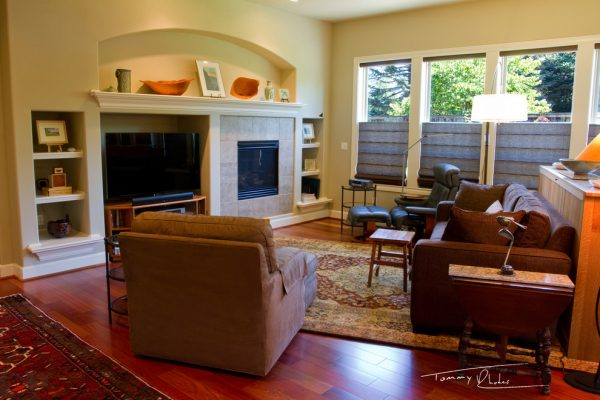 living room decorating ideas and designs Remodels Photos Transitional Designs, LLC Washougal Washington United States eclectic-family-room